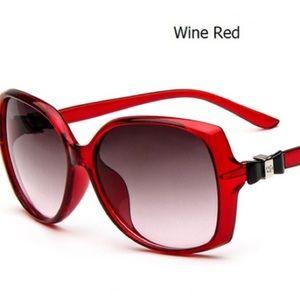 Wine Red Sunglasses